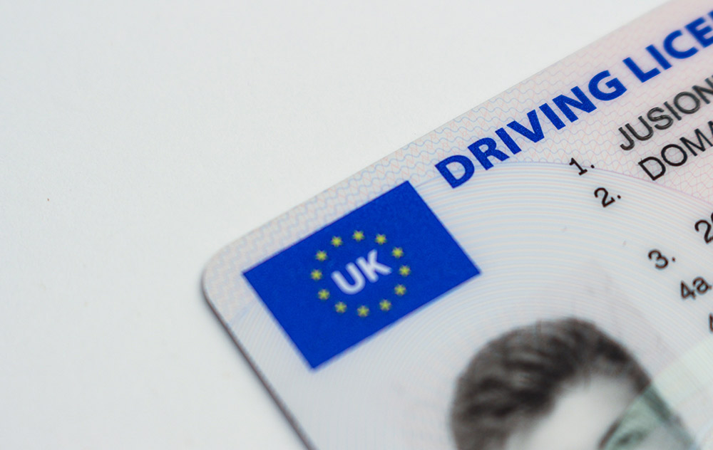 how to get a UK driving license step by step